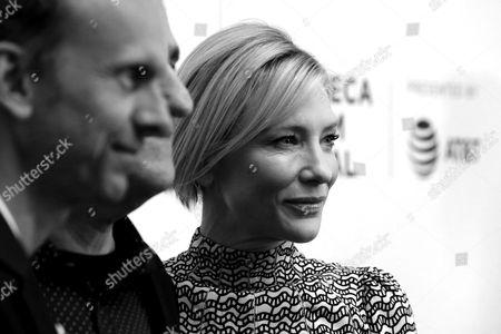 Julian Rosefeldt, Jack Fisher and Cate Blanchett