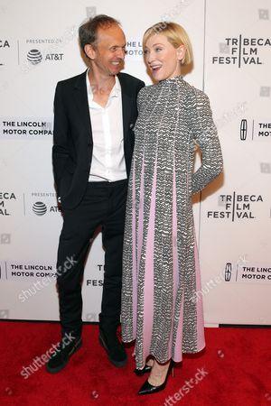 Julian Rosefeldt and Cate Blanchett