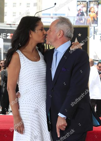 Wolfgang Puck and Gelila Assefa