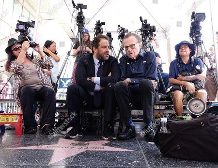 Brett Ratner and Larry King