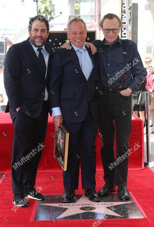 Brett Ratner, Wolfgang Puck and Larry King