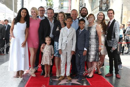 Gelila Assefa, Wolfgang Puck and Family