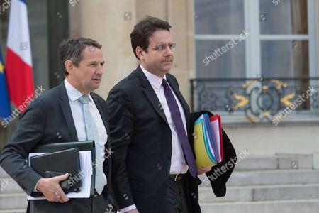 Editorial image of Weekly cabinet meeting, Elysee Palace, Paris, France - 26 Apr 2017