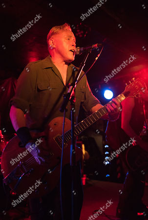 Editorial photo of Spear Of Destiny in concert at King Tut's Wah Wah Hut, Glasgow, Scotland, UK - 26 Apr 2017