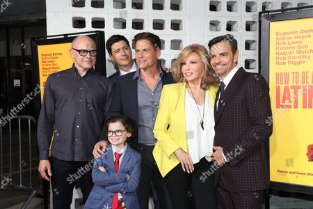 Stock Picture of Rob Corddry, Ken Marin, Raphael Alejandro, Rob Lowe, Raquel Welch and Eugenio Derbez