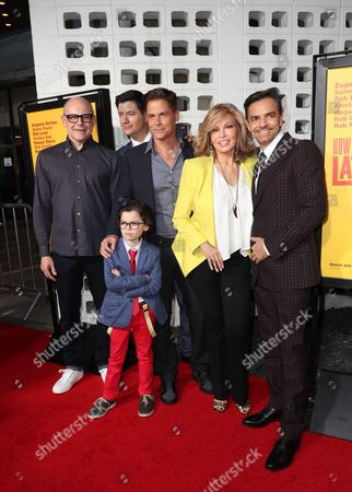 Rob Corddry, Ken Marin, Raphael Alejandro, Rob Lowe, Raquel Welch and Eugenio Derbez