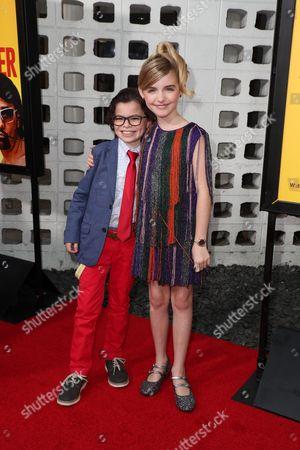Raphael Alejandro and Mckenna Grace