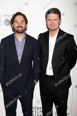 James Ponsoldt and Dave Eggers