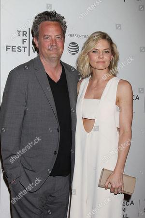 Matthew Perry and Jennifer Morrison