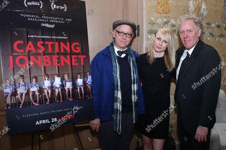 James Schamus (Producer), Kitty Green (Director) and Scott Macaulay (Producer)