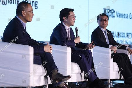 Kai-Fu Lee, Zhang Hongjiang and Zhang Yaqin