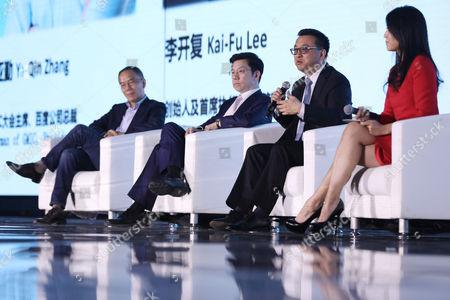Zhang Yaqin, Kai-Fu Lee and Zhang Hongjiang