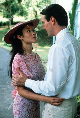 'Tanamera - Lion of Singapore' - TV - John Dexter (Christopher Bowen) and Julie Soong (Khym Lam)