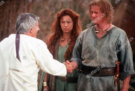 'Boudica' AKA 'Warrior Queen' - TV - Boudica (Alex Kingston), Prasutagus (Steve Waddington), Claudius (Jack Shepherd)