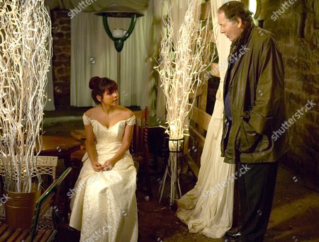 'Emmerdale'   TV   Soap   -   2008 Pictured: Jack Sugden (Clive Hornby) tries to console Jo Stiles (Roxanne Pallett) after her big day is ruined.
