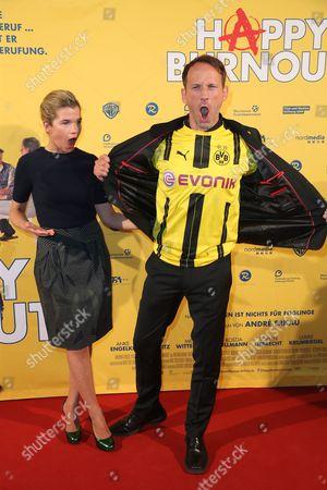 Anke Engelke and Wotan Wilke Mohring