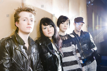 Stock Image of Sons and Daughters - Scott Paterson, Adele Bethel, Ailidh Lennon and  David Gow
