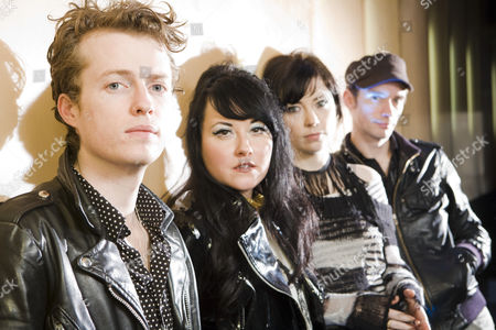 Stock Photo of Sons and Daughters - Scott Paterson, Adele Bethel, Ailidh Lennon and David Gow