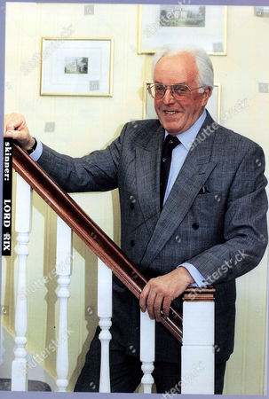 Lord Rix Formerly Actor Comedian Brian Rix