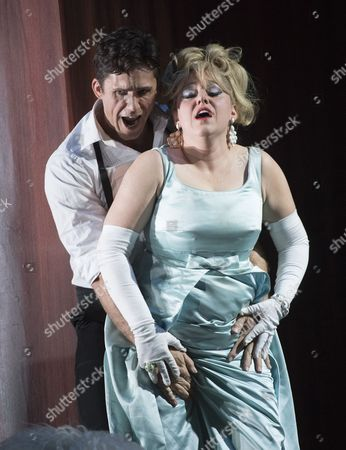 Sophie Bevan as Beatriz, Ed Lyon as Eduardo