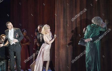 Editorial photo of 'The Exterminating Angel' Opera by Thomas Ades performed at the Royal Opera House, London, UK, 23 Apr 2017