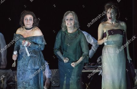 Editorial picture of 'The Exterminating Angel' Opera by Thomas Ades performed at the Royal Opera House, London, UK, 23 Apr 2017