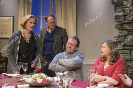 Editorial photo of 'Late Company' Play by Jordan Tannahill performed at the Finborough Theatre, London, UK, 25 Apr 2017