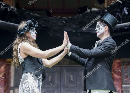 Kirsty Bushell as Juliet, Edward Hogg as Romeo