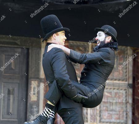 Gareth Snook as Lord Capulet; Tim Chipping as Paris