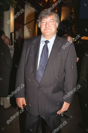 Journalist Noel Botham Outside The French House Pub In Soho This Evening After He Had Spoken At The Funeral Of Hughie Green Mentioning A Bastard Child. .............. See Paul Field Story