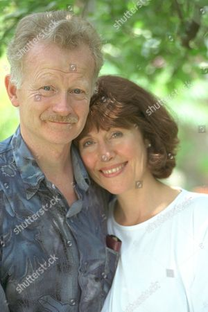 Actress Elisabeth Sladen Who Was A Dr Who Girl Also With Husband Actor Brian Miller