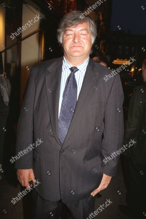 Journalist Noel Botham Outside The French House Pub In Soho This Evening After He Had Spoken At The Funeral Of Hughie Green Mentioning A Bastard Child. .............. See Paul Field Storyry