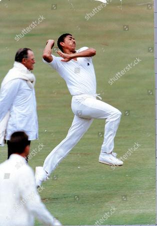 Philip Phil Defreitas West Indies V England Lords 2nd Test