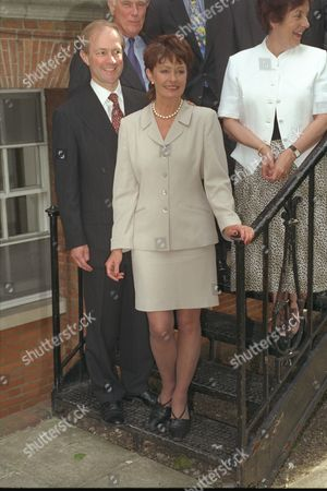 Conservative Party Leadership Contest Parties Peter And Gail Lilley And Gillian Shephard (now Baroness Shephard Of Northwold)