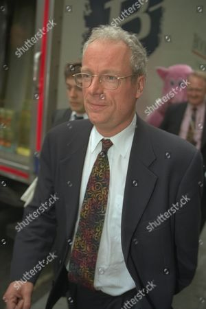 National Heritage Secretary Chris Smith (now Baron Smith Of Finsbury) At Hq Of Camelot The Organisers Of The National Lottery. Lord Smith