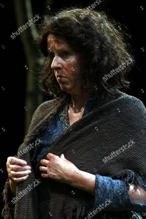 """Julia Dearden played Mary Sweeney in """"The Home Place"""" play written by Brian Friel.  A Lyric Theatre Production at Grand Opera House, Belfast, Northern Ireland"""