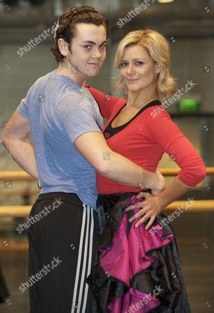 Ray Quinn and Maria Fillipov