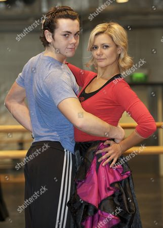 Stock Picture of Ray Quinn and Maria Fillipov