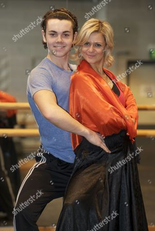 Stock Image of Ray Quinn and Maria Fillipov