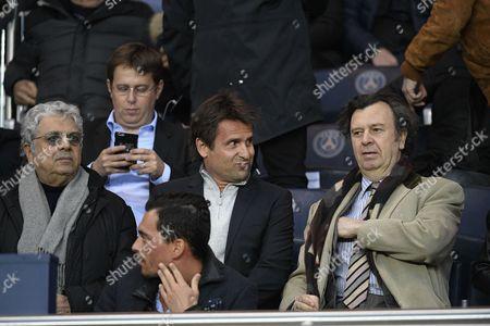 Fabrice Santoro and Enrico Macias