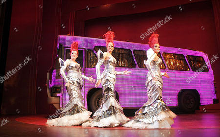 'Priscilla Queen of the Desert: The Musical' - Emma Lindars, Kate Gillespie, Zoe Birkett