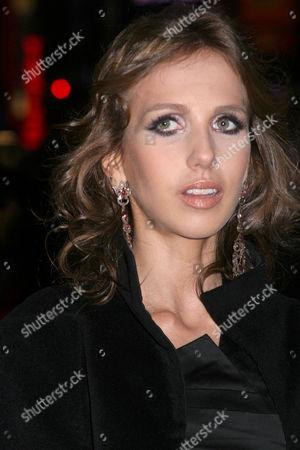 Stock Image of Allegra Versace Beck