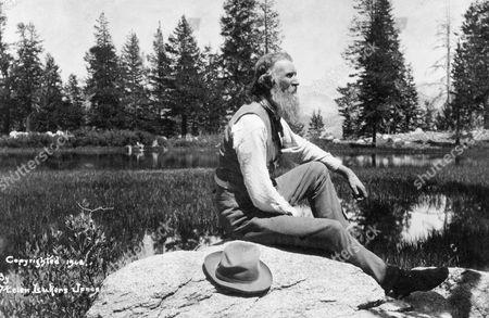 John Muir (1838-1914). American (Scottish-Born) Naturalist. Photograph, C1908.