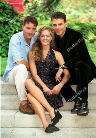 The Cast Of The Hit Tv Show 'heartbeat'. L-r Nick Berry Juliette Gruber Jason Durr..