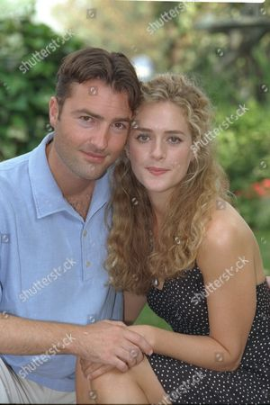 New Cast Of Television Programme Heartbeat Nick Berry (plays Pc Nick Rowan) And Juliette Gruber (plays Schoolteacher Jo Weston)