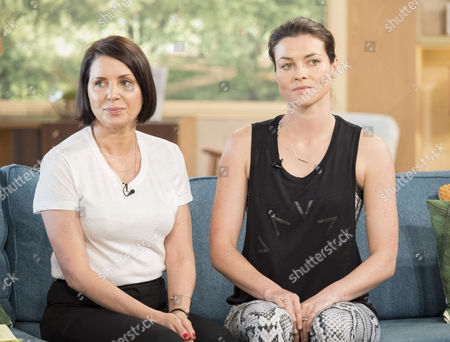 Sadie Frost and Holly Davidson