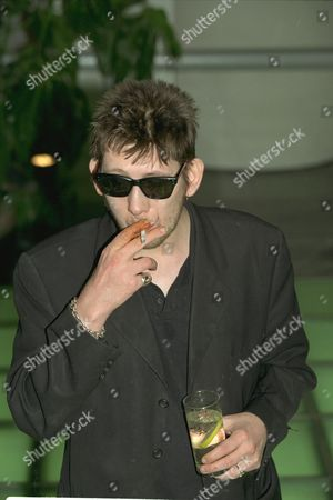 Stock Photo of Bbc Photocall For This Autumns Arts Programmes. Shane MacGowan Former Lead Singer With The Pogues His Life Story Is Bbc Documentary Called The Great Hunger On Bbc2.