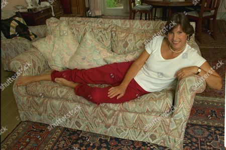 Josceline Dimbleby Wife Of David Dimbleby Cook Book Writer Pictured At Her Chiswick Home. Daily Mail Interview.