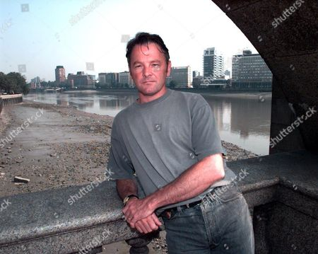 Scottish Author Robin Robertson Pictured In London