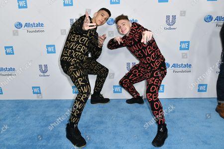 Stock Photo of Josh Weller and Elliot Crawford